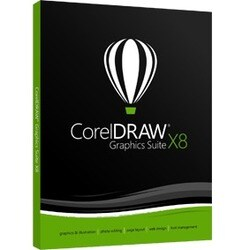 Corel CorelDraw Graphics Suite v.X8 - Box Pack - 1 User - Academic