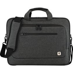 """V7 CTPX1-1N Carrying Case (Briefcase) for 15.6"""" Notebook - Gray