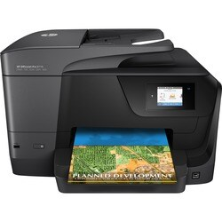 HP Officejet Pro 8710 Inkjet Multifunction Printer - Color - Plain Pa