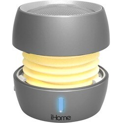 iHome iBT73 Speaker System - Portable - Battery Rechargeable - Wirele