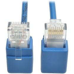 Tripp Lite Cat6 Gigabit Snagless Molded Slim UTP Patch Cable Right An