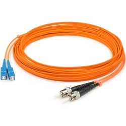 AddOn 9m SC (Male) to ST (Male) Orange OM1 Duplex Fiber OFNR (Riser-R