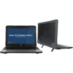 Max Cases Extreme Shell for HP Chromebook 11 G4-EE (Grey) Education E
