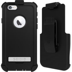 Seidio CONVERT Carrying Case (Holster) for iPhone 6, iPhone 6S - Blac