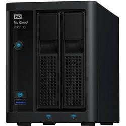 WD 16TB My Cloud PR2100 Pro Series Media Server with Transcoding, NAS
