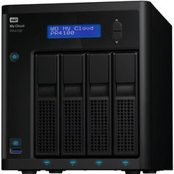 WD 24TB My Cloud PR4100 Pro Series Media Server with Transcoding, NAS