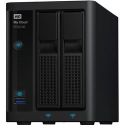 WD 4TB My Cloud PR2100 Pro Series Media Server with Transcoding, NAS