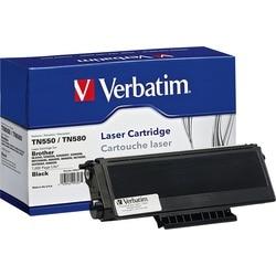 Verbatim Remanufactured Toner Cartridge - Brother TN550, TN580 - Blac