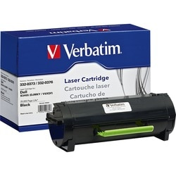 Verbatim Remanufactured Toner Cartridge - Dell 332-0373, 332-0376 - B