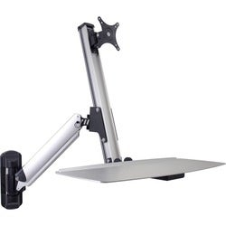 DoubleSight Displays DS-ERGO-100WM Ergonomic Sit/Stand Monitor Arm an