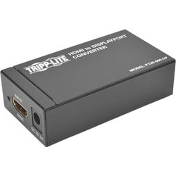 Tripp Lite HDMI / DVI to DisplayPort Video Adapter Converter Active H