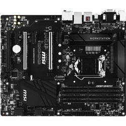 MSI C236A WORKSTATION Workstation Motherboard - Intel C236 Chipset -