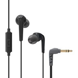 MEE audio RX18 Comfort-Fit In-Ear Headphones With Enhanced Bass (Blac
