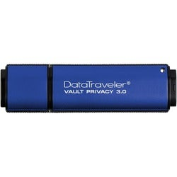 Kingston 8GB DataTraveler Vault Privacy 3.0 USB 3.0 Flash Drive