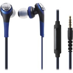 Audio-Technica Solid Bass In-Ear Headphones with In-line Mic & Contro