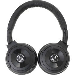 Audio-Technica Solid Bass Wireless Over-Ear Headphones with Built-in