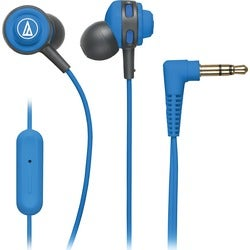 Audio-Technica SonicSport In-ear Headphones with In-line Mic & Contro