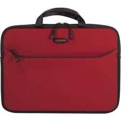 "Mobile Edge SlipSuit Carrying Case (Sleeve) for 16"" Notebook - Crimso"