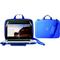 """HP Always-On Carrying Case for 11"""" Chromebook, Notebook - Black"""
