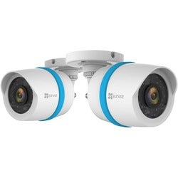 EZVIZ 1080p IP PoE Bullet Camera 2-Pack for Home Security System with