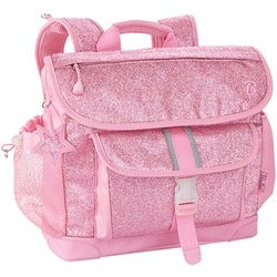 Bixbee Sparkalicious Pink Kids Glitter Backpack - Medium