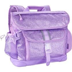 Bixbee Sparkalicious Purple Kids Glitter Backpack - Medium