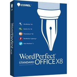 Corel WordPerfect Office v.X8 Standard Edition - Box Pack - 1 User