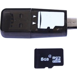 Plugable USB 2.0 MicroSD Card Reader for Phone, Laptop, and Tablet