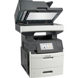 Lexmark MX710de Laser Multifunction Printer - Monochrome - Plain Pape