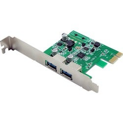 Visiontek Two Port USB 3.0 x1 PCIe Internal Card for PCs and Servers