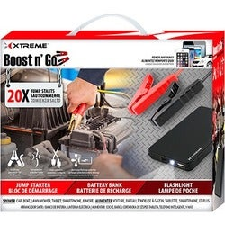 Xtreme Cables Boost n' Go Jump Starter Battery Bank