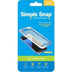 ReVamp Simple Snap Screen Protector (Samsung Galaxy S7) (Tempered Gla
