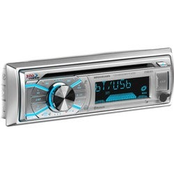 BOSS AUDIO MR508UABS Marine Single-DIN CD Player, Receiver, Bluetooth