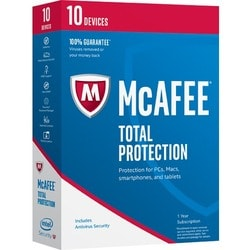 McAfee Total Protection 2017 - 10 Device - Thumbnail 0