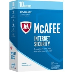 McAfee Internet Security 2017 - 10 Device