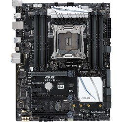 Asus X99-E Desktop Motherboard - Intel Chipset - Socket LGA 2011-v3