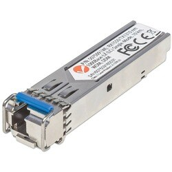 Intellinet Gigabit Fiber WDM Bi-Directional SFP Optical Transceiver M
