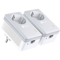 TP-LINK AV500 Powerline Adapter with AC Pass Through Starter Kit