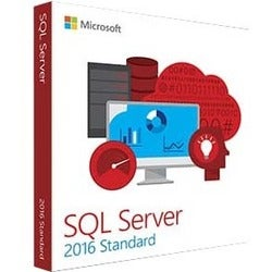 Microsoft SQL Server 2016 Standard Edition - Complete Product - 10 Cl - Thumbnail 0