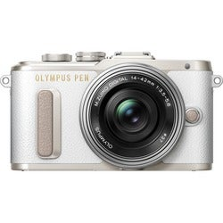 Olympus PEN E-PL8 16.1 Megapixel Mirrorless Camera with Lens - 14 mm