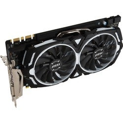 MSI GTX 1080 ARMOR 8G OC GeForce GTX 1080 Graphic Card - 1.66 GHz Cor