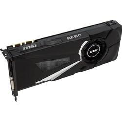 MSI AERO GTX 1080 AERO OC GeForce GTX 1080 Graphic Card - 1.63 GHz Co