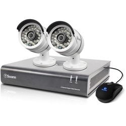 Swann DVR4-4600 - 4 Channel 1080p Digital Video Recorder & 2 x PRO-A8