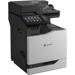 Lexmark CX825DE Laser Multifunction Printer - Color - Plain Paper Pri