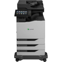 Lexmark CX825dte Laser Multifunction Printer - Color - Plain Paper Pr
