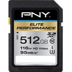 PNY Elite Performance 512 GB SDXC