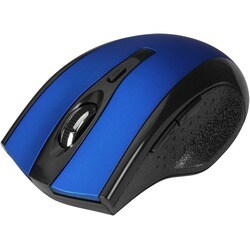 SIIG 6-Button Ergonomic Wireless Optical Mouse - Blue