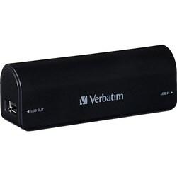 Verbatim Portable Power Pack, 2600mAh - Black