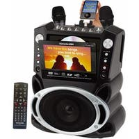 "Karaoke GF829 DVD/CD+G/MP3+G Karaoke System with 7"" TFT Color Screen"