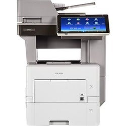 Ricoh MP 601SPF Laser Multifunction Printer - Monochrome - Plain Pape